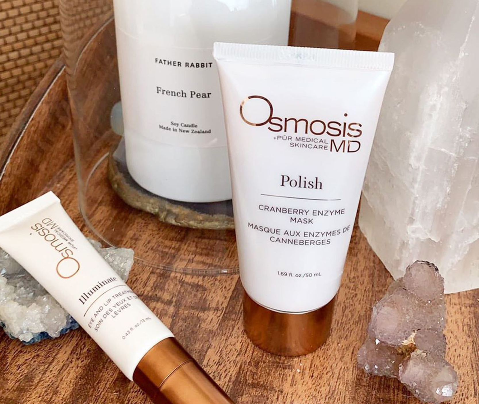 Osmosis Skincare: Polish Cranberry Enzyme Mask