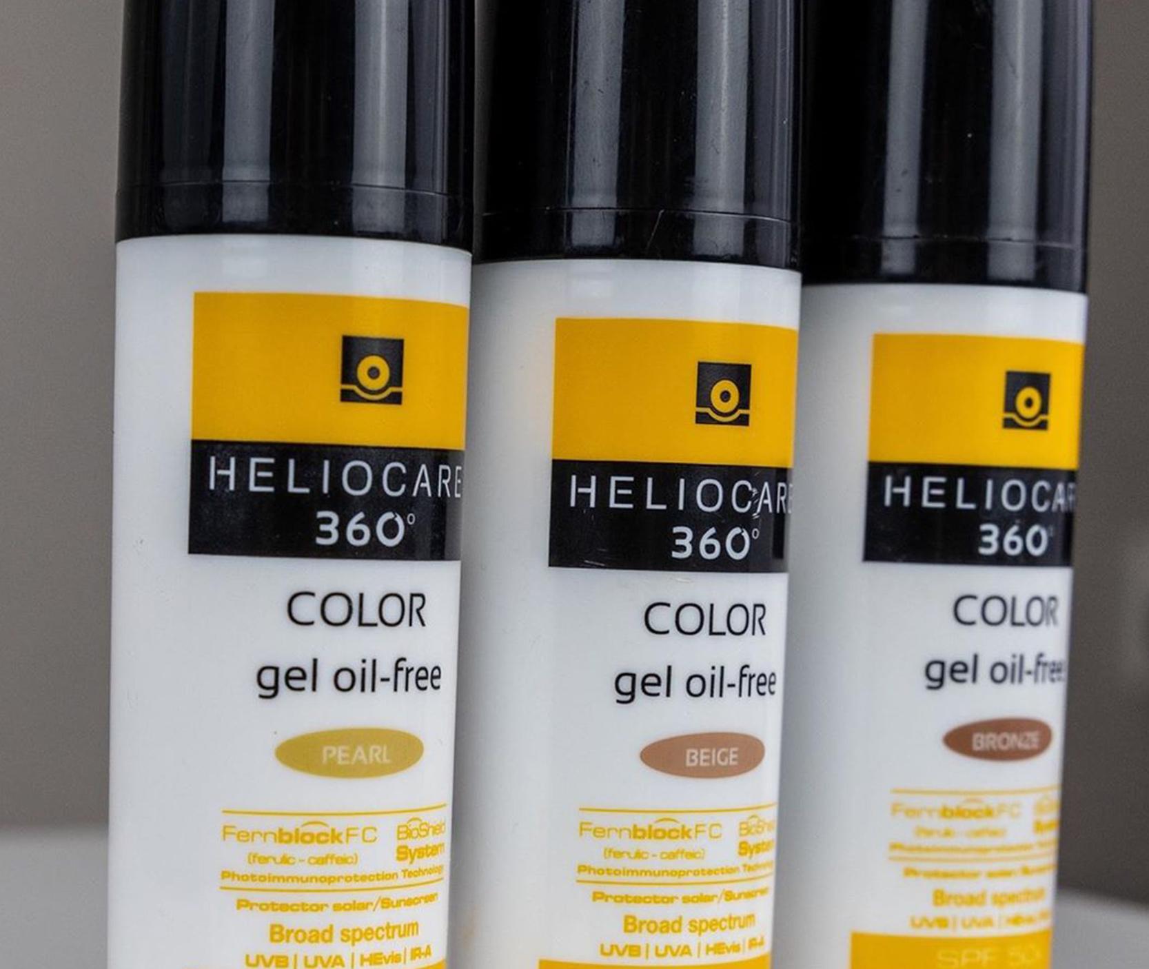 Heliocare 360: Color Gel Oil-Free SPF50+