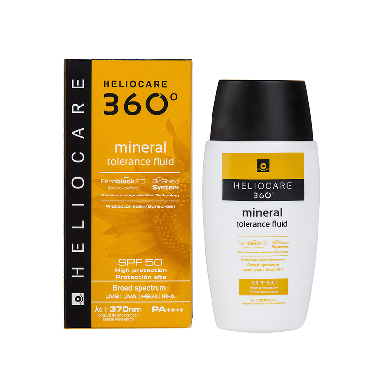 Heliocare 360: Mineral Tolerance Fluid SPF50+