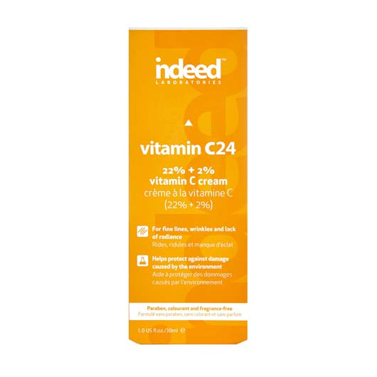 Indeed Labs Vitamin C24 Brightening Moisturiser Cream Box