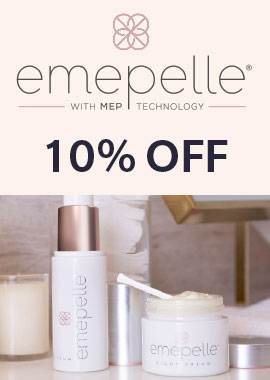 Emepelle menopause skin care offer
